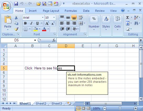 Next : Read and Import Excel File into DataSet or DataTable in vb.net