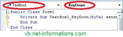 KeyPress event in VB NET